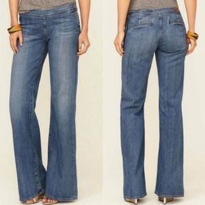 "Adriano Goldschmied  ""The Royal"" Flair Leg Jeans"